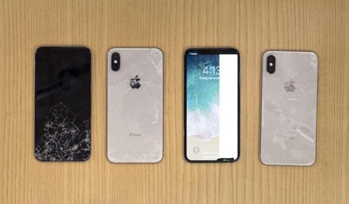 iPhone x dayaniklilik testi