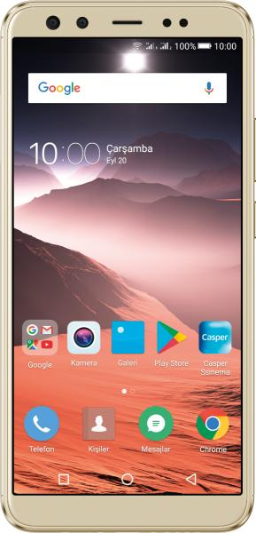 Casper VIA F2 ve Asus ROG Phone karşılaştırması
