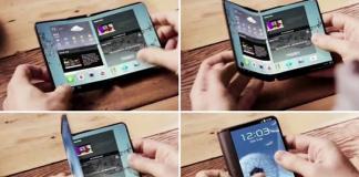 Samsung'un Yeni Katlanabilir Akıllı Telefonunun Çizimi Sızdırıldı