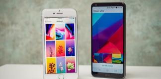 LG G6 ve iPhone 8 Karşılaştırma