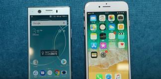 Sony Xperia XZ1 ve iPhone 8 Karşılaştırması