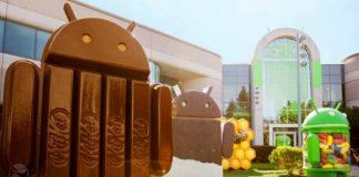 android heykelleri