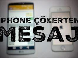 iPhone'u Çökerten Yeni Bir Hata Keşfedildi! O Mesajı Sakın Açmayın!
