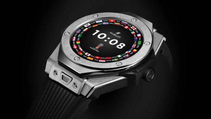 2018 Dünya Kupası Hakemlerine Özel Android Saat