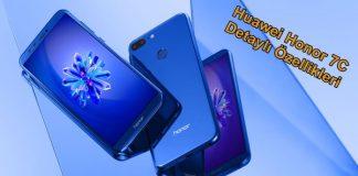 Huawei 7C Reklam Filmi Sızdırıldı: Özellikleri ve Çıkış Tarihi