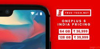 OnePlus 6 Satış Fiyatı