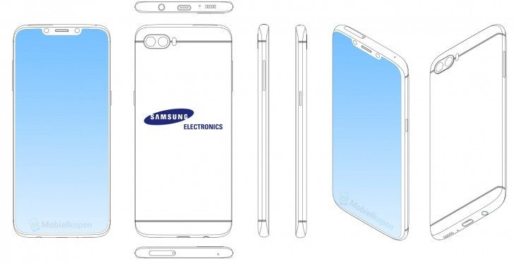 Samsung Çentikli Ekran