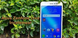 Asus Zenfone Live İnceleme