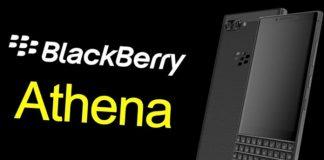 Blackberry Athena TENAA'da Görüldü!