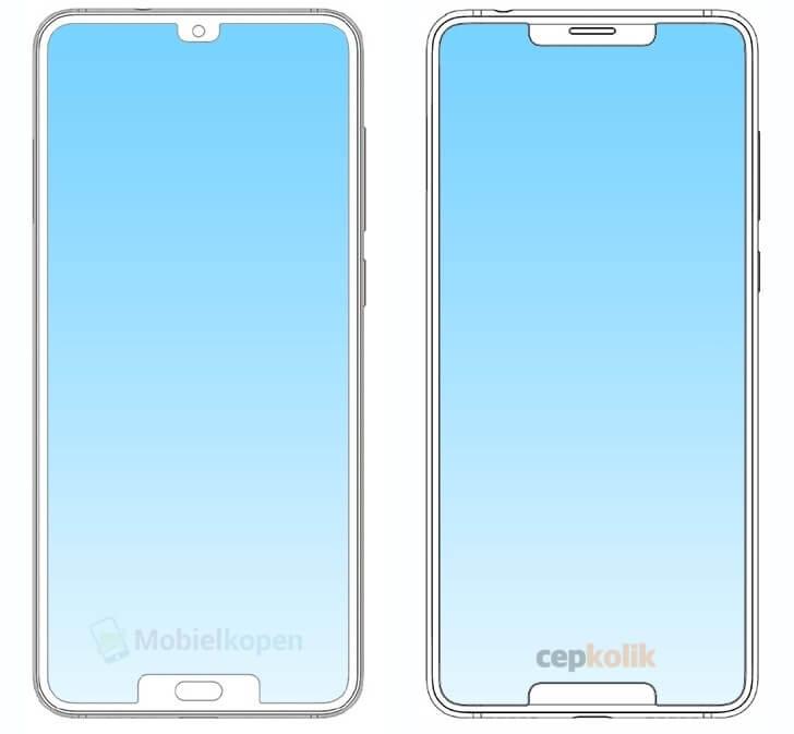 ZTE Çift Çentikli Telefon Tasarımının Patentini Aldı!