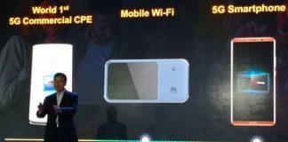 Huawei Açıkladı! İlk 5G Akıllı Telefonu 2019'da Geliyor!