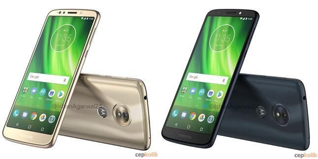 Motorola Moto G6, G6 Play ve G6 Plus Sızdırıldı! İşte Renk Seçenekleri...
