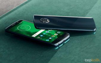 Moto G6, G6 Play ve G6 Plus Satışa Çıktı!