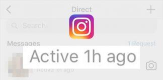 Instagram Şuan Aktif Özelliğini Kapatma