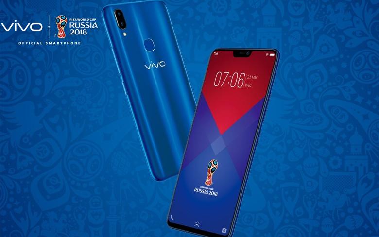 Vivo V9 Blue FIFA World Cup 2018 Russia Tanıtıldı ...