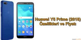 Huawei Y5 Prime (2018) Sessizce Tanıtıldı: Özellikleri ve Fiyatı
