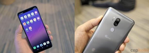 LG G7 ThinQ Tanıtıldı: 19.5:9 En Boy Oranına Sahip 6.1 inç Çentikli Ekran!