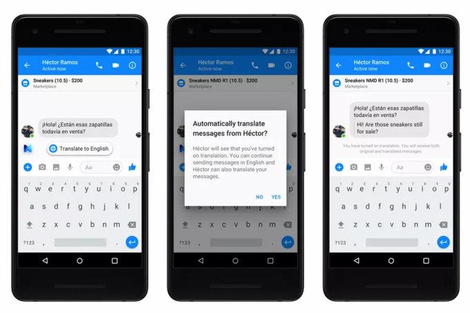 Facebook Messenger Çok Yakında Mesajlara Otomatik Çeviri Yapabilecek!