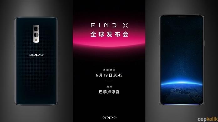 Periscope Kameralı Oppo Find X'in Yeni Posteri Yayınlandı ...