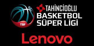 Lenovo, Tahincioğlu Basketbol Süper Ligi Ana Sponsoru Oldu!