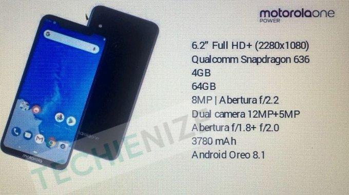 Motorola One Power Yeni Özellik Sayfası Sızdırıldı! Eski Sızıntılar Yalan Mıydı?