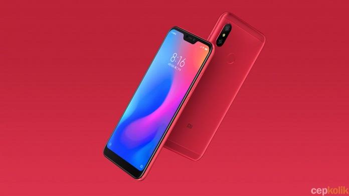 Xiaomi Redmi 6 Pro Resmi Görselleri Yayınlandı!
