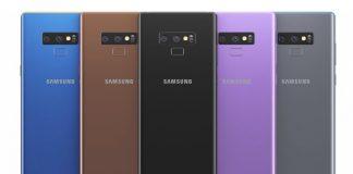 Samsung Galaxy Note 9 Teknik Çizimleri Tüm Renk Seçenekleriyle Sızdırıldı!
