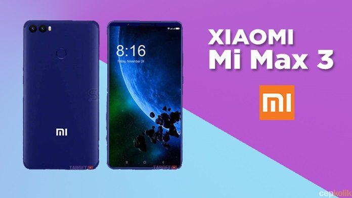 Xiaomi Mi Max 3 Sızdırıldı - Özellikleri ve Fiyatı