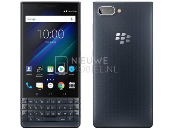 BlackBerry KEY2 LE Mavi Renk Seçeneğinin Görüntüleri Sızdırıldı