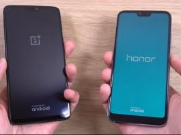 Huawei Honor Note 10 ve OnePlus 6 Karşılaştırması