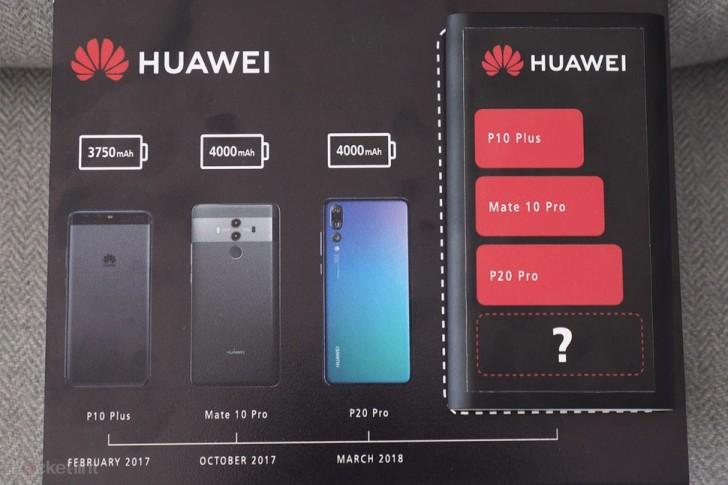 Huawei Mate 20 Pro Pil Kapasitesiyle Piyasaya Damga Vuracak!