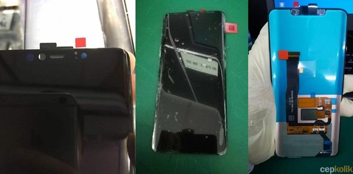 Huawei Mate 20 Ön Panelinin Canlı Fotoğrafları Sızdırıldı!