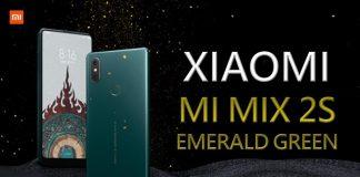 Xiaomi Mi Mix 2S Zümrüt Yeşili Renk Seçeneği Satışa Çıkıyor