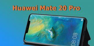 Resmi Koruma Kılıfları Huawei Mate 20 Pro Özelliklerini Sergiledi