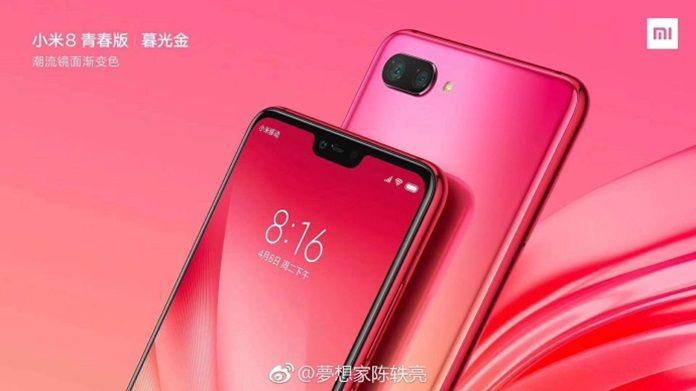 Xiaomi Mi 8X Alacakaranlık Altın Renginin Görüntüleri Yayınlandı!