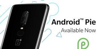 OnePlus 6 Android 9.0 Pie Güncellemesi Kararlı Sürümü Yayınlandı!