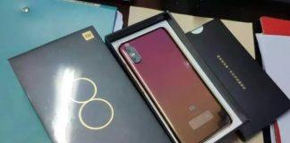 Xiaomi Mi 8 Screen Fingerprint Edition Canlı Görüntüleri Sızdırıldı