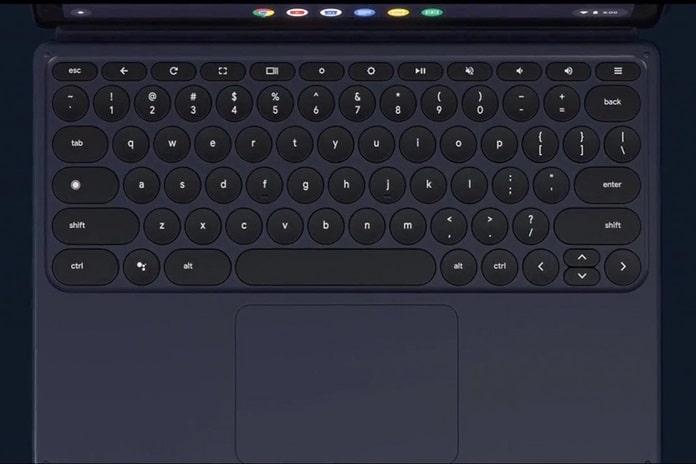 Çıkarılabilir Klavye ve Ekran Kalemi ile Google Pixel Slate