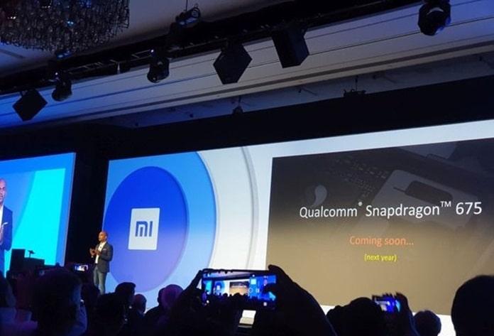 Qualcomm Snapdragon 675 Destekli Xiaomi Akıllı Telefon