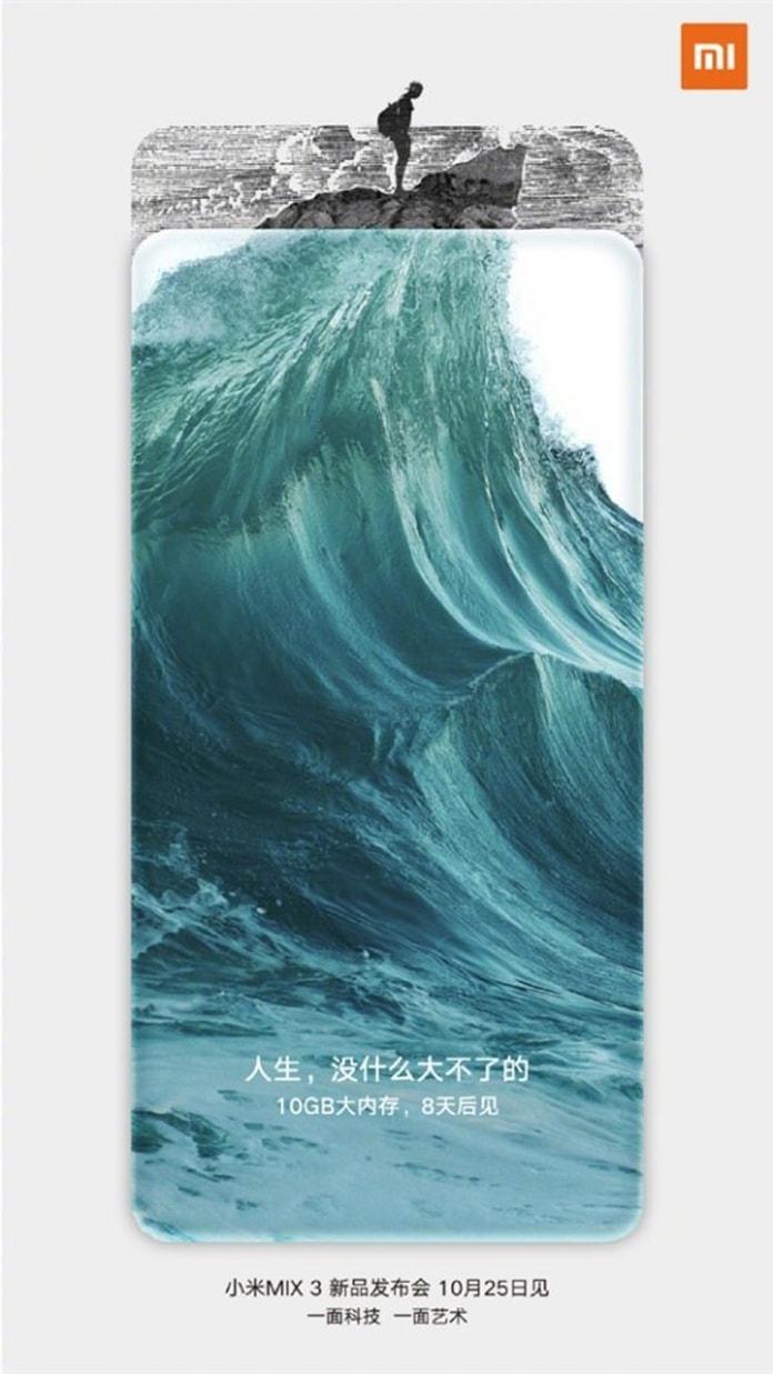Xiaomi Mi MIX 3 10GB RAM Resmi Olarak Onaylandı