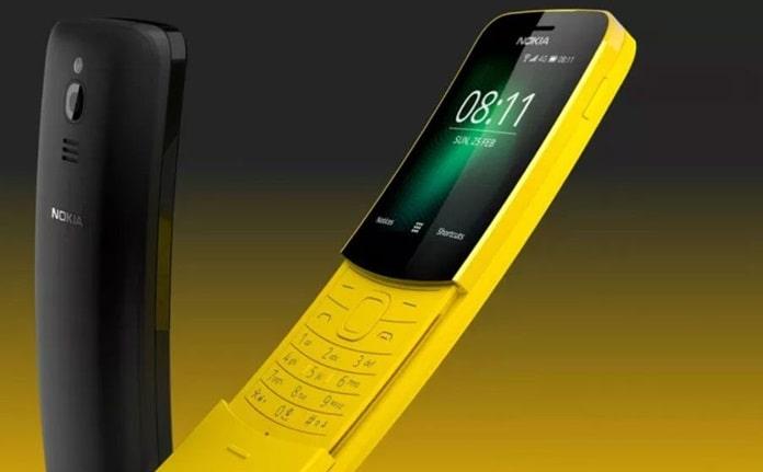 KaiOS Tarafından Desteklenen Nokia 8110 4G