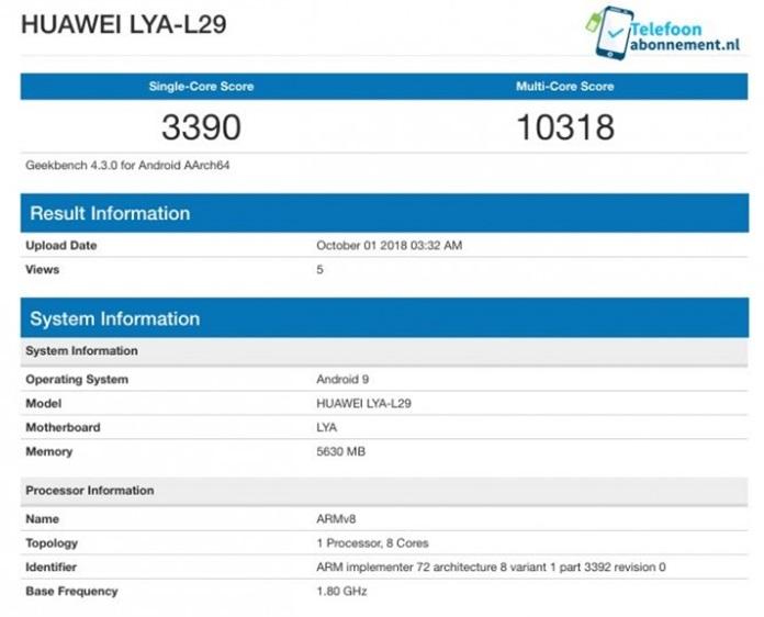 Huawei Mate 20 Kirin 980 İle Rakiplerini Geride Bırakacağa Benziyor