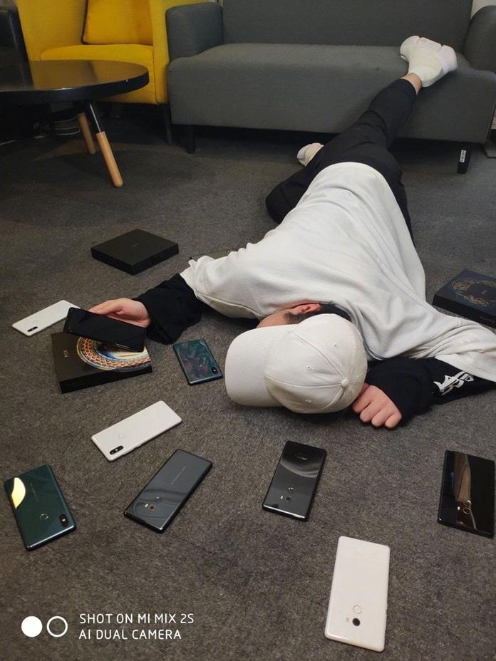 Xiaomi Mi MIX 3 Görselleri