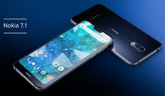 HMD Global Nokia 7.1 Akıllı Telefonu Piyasaya Sürdü