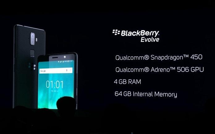BlackBerry Evolve için Çıkış Tarihi Belli Oldu