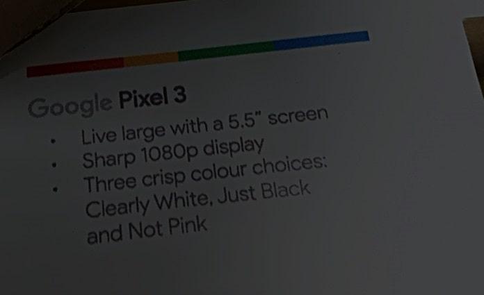 Google Pixel 3 ve Pixel 3 XL Ekran ve Renk Özellikleri