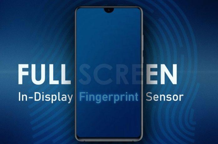 Samsung Tam Ekran Parmak Okuyucu Özelliği
