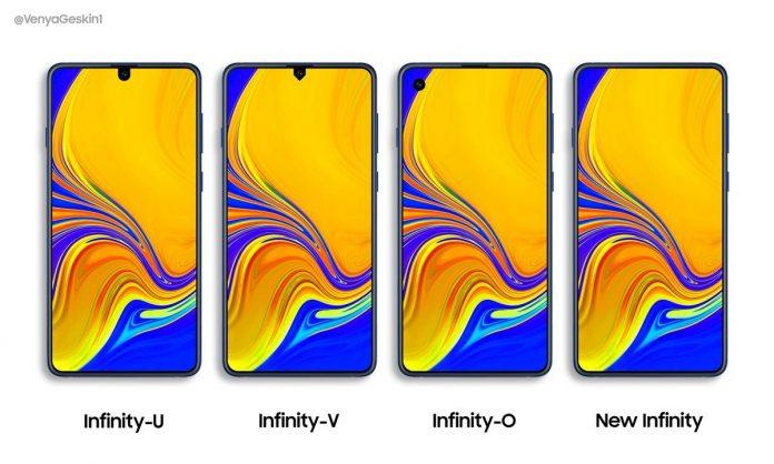 Samsung Yeni Ekranlarda Nasıl Tasarımlar Sunacak?