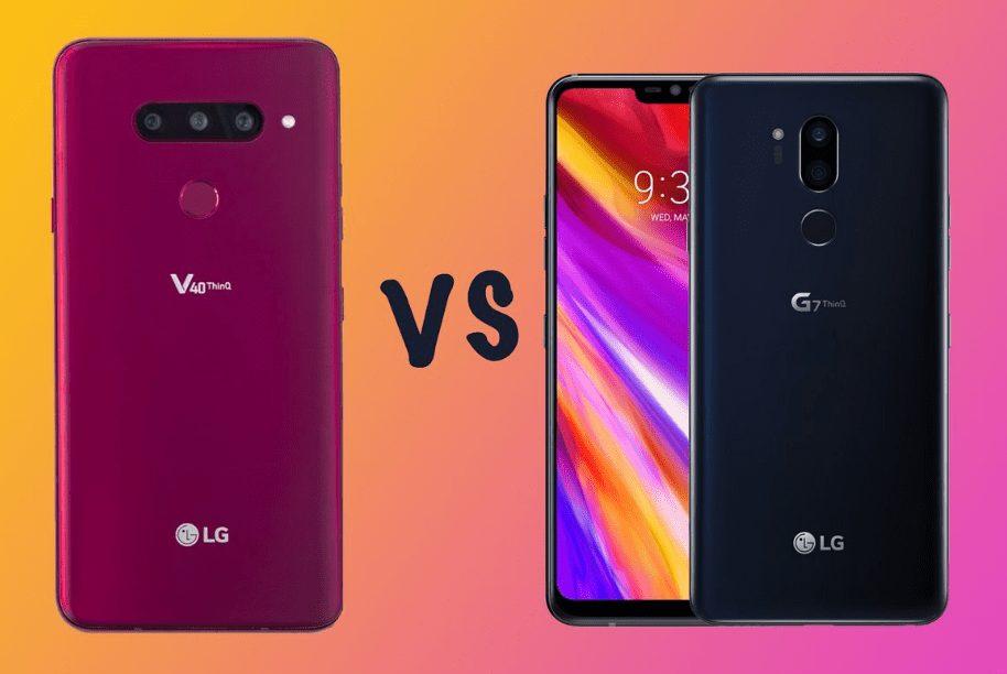 LG G7 ThinQ ve LG V40 ThinQ Android Pie Güncellemesi Alacak