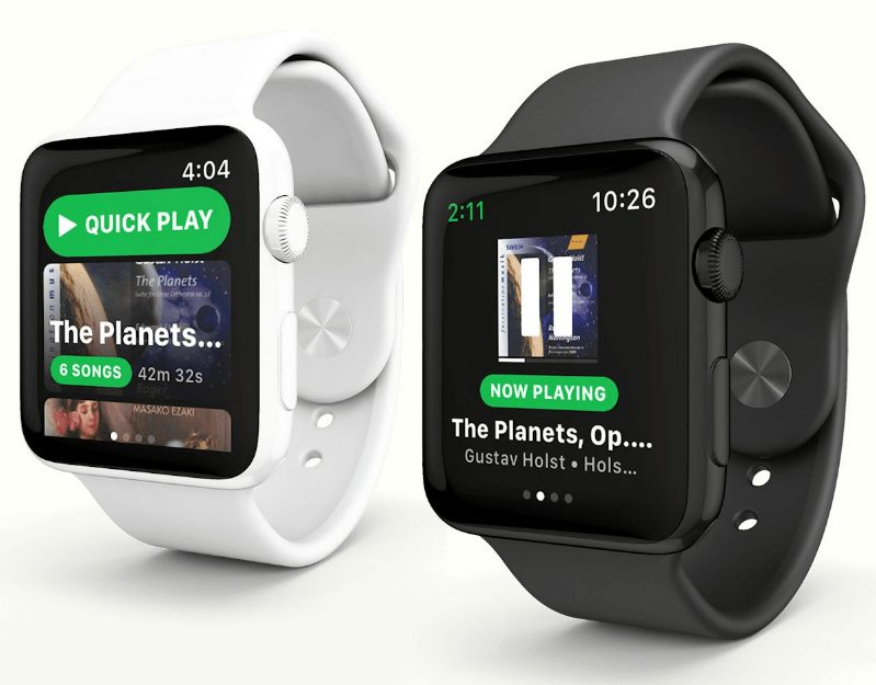 Apple Watch'ta Spotify Devri